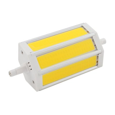 R7S LED 118 mm COB 7W LED Lamp AC 85 - 265V