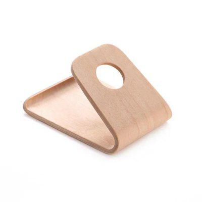 SAMDI Wood Mobile Phone Stand Holder for iPhone