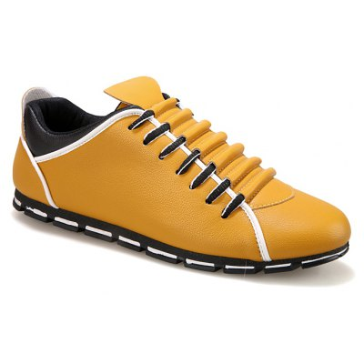 Autumn Breathable  Casual Shoes Low Help  Men's Youth Trend of Youth  British Shoes
