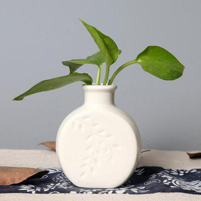 Buy WHITE 803 1PCS Creative Fashion Home Furnishing A Vase for $10.85 in GearBest store