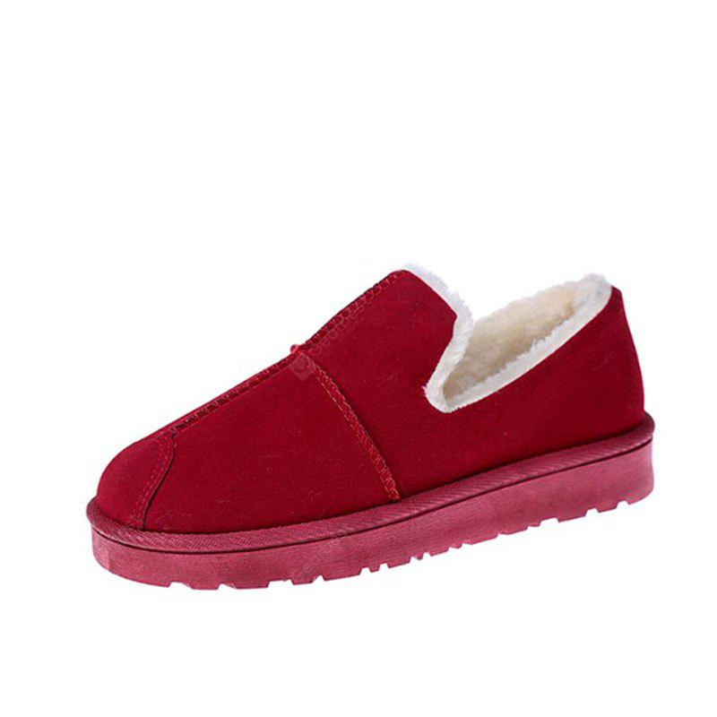 RED 36 Lap Top Warm Bread Shoes