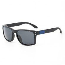TOMYE P832 Fashion PC Square Frame Polarized Sunglasses for Men and Women