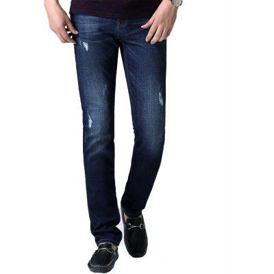 Men'S Classic Business Casual Jeans