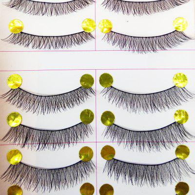 Natural Pure Manual False Eyelash Cross and Glue and Auxiliary Device and Small Scissors Suits pure and natural 250 1090415