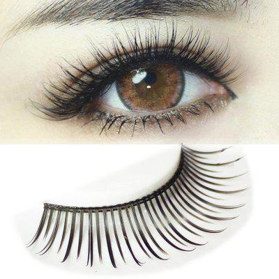 Pair of Beautiful Black Natural Long Eyelash