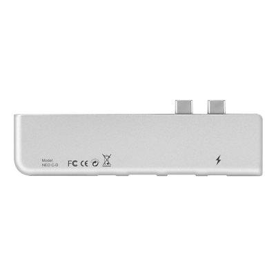 MINIX NEO C-D USB-C Multiport Adapter for MacBook ProUSB Accessories<br>MINIX NEO C-D USB-C Multiport Adapter for MacBook Pro<br><br>Brand: MINIX<br>Certificate: CE,FCC,RoHs<br>Package Contents: 1 x NEO C-D Adapter, 1 x English Manual<br>Package size (L x W x H): 19.50 x 6.00 x 2.00 cm / 7.68 x 2.36 x 0.79 inches<br>Package weight: 0.0660 kg<br>Product size (L x W x H): 11.50 x 2.80 x 0.90 cm / 4.53 x 1.1 x 0.35 inches<br>Product weight: 0.0380 kg