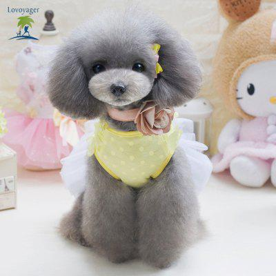 Lovoyager DB201725 2017 Fashion Dog Tutu Butterfly Pet Puppy Skirt Summer Wedding Party Princess Dress Bow Lace Sweet ClothingDog Clothing &amp; Shoes<br>Lovoyager DB201725 2017 Fashion Dog Tutu Butterfly Pet Puppy Skirt Summer Wedding Party Princess Dress Bow Lace Sweet Clothing<br><br>For: Dogs<br>Functions: Others<br>item: dog clothes<br>Material: Cotton<br>Package Contents: 1 x Pet Clothes<br>Package size (L x W x H): 30.00 x 22.00 x 3.00 cm / 11.81 x 8.66 x 1.18 inches<br>Package weight: 0.1100 kg<br>Season: Summer<br>Size: Others<br>Type: Others