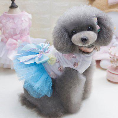 Lovoyager DB1001 Summer Pet Dress Tutu Princess Lace Wedding Clothing Candy Bow Skirt for Small Dogs Teddy ClothingDog Clothing &amp; Shoes<br>Lovoyager DB1001 Summer Pet Dress Tutu Princess Lace Wedding Clothing Candy Bow Skirt for Small Dogs Teddy Clothing<br><br>For: Dogs<br>Functions: Others<br>item: dog dress<br>Material: Cotton<br>Package Contents: 1 x Dog Clothes<br>Package size (L x W x H): 35.00 x 20.00 x 3.00 cm / 13.78 x 7.87 x 1.18 inches<br>Package weight: 0.1200 kg<br>Season: Summer<br>Size: Others<br>Type: Skirt