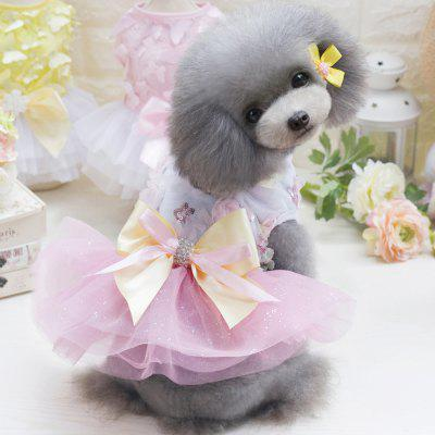 Lovoyager DB1001 Summer Pet Dress Tutu Princess Lace Wedding Clothing Candy Bow Skirt for Small Dogs Teddy ClothingDog Clothing &amp; Shoes<br>Lovoyager DB1001 Summer Pet Dress Tutu Princess Lace Wedding Clothing Candy Bow Skirt for Small Dogs Teddy Clothing<br><br>For: Dogs<br>Functions: Others<br>item: dog dress<br>Material: Cotton<br>Package Contents: 1 x Dog Clothes<br>Package size (L x W x H): 35.00 x 20.00 x 3.00 cm / 13.78 x 7.87 x 1.18 inches<br>Package weight: 0.1600 kg<br>Season: Summer<br>Size: Others<br>Type: Skirt