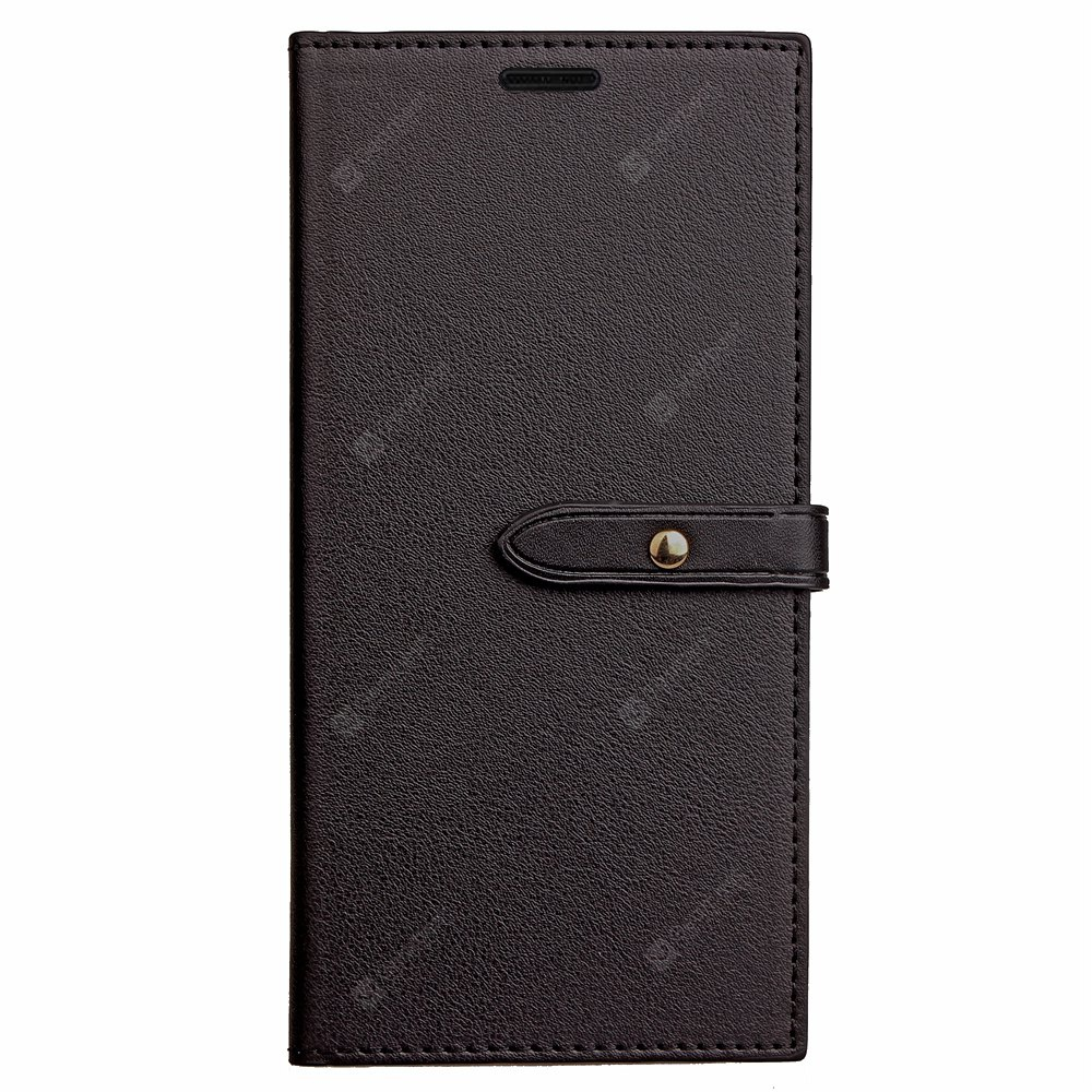 Velcro Business Card Lanyard Pu Leather for Samsung J3 (2017)