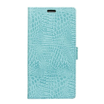KaZiNe Crocodile Texture Wallet Stand Leather Cover for Vodafone Smart V8