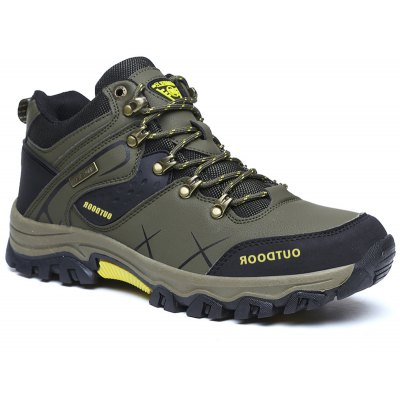 Buy ARMY GREEN 43 Men's Sports Outdoor Hiking Shoes for $32.99 in GearBest store