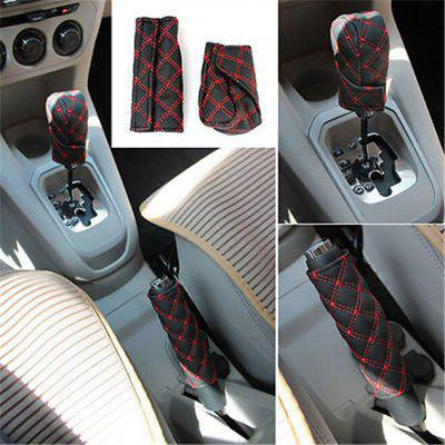 1Set Car Accessory Decoration Hand Brake + Gear + Rear View Mirror CoverCar Ornaments &amp; Pendant<br>1Set Car Accessory Decoration Hand Brake + Gear + Rear View Mirror Cover<br><br>Material: PU<br>Package Contents: 1 x Car Handbrake Set<br>Package size (L x W x H): 20.00 x 10.00 x 5.00 cm / 7.87 x 3.94 x 1.97 inches<br>Package weight: 0.0850 kg<br>Product size (L x W x H): 19.50 x 6.50 x 1.00 cm / 7.68 x 2.56 x 0.39 inches<br>Product weight: 0.0800 kg