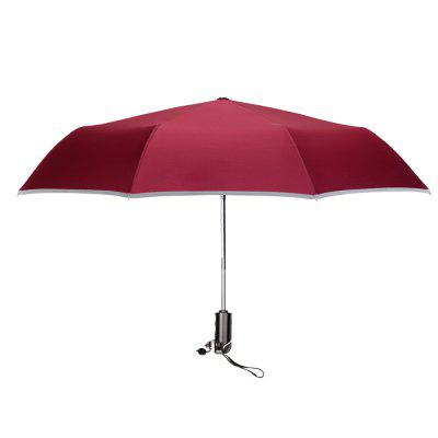 Safety Sunny and Rainy Broke Window Car Hammer Multi-function Umbrella