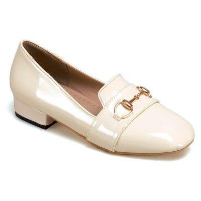 The New Style of Low-Heeled Ladies' Shoes with Shallow Loafers