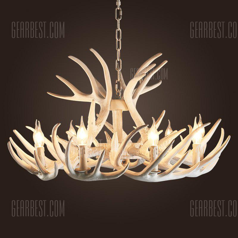 Antler chandeliers american country sitting room bedroom antler chandeliers american country sitting room bedroom mediterranean resin droplight creative personality internet cafe cafe restaurant aloadofball Choice Image