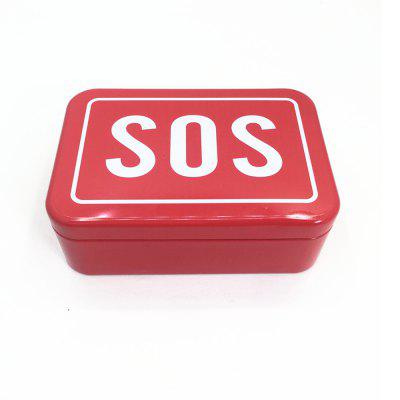 SOS Outdoor Camping Multifunctional Tool Box for Survival 6pcs
