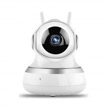 WiFi Remote Control Multifunction Infrared Night Vision Monitor IP Camera 1080P US Plug