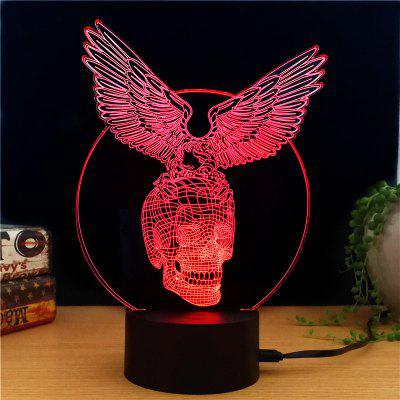 Buy M.Sparkling TD171 Creative Halloween Gift 3D Lamp COLORFUL for $7.60 in GearBest store