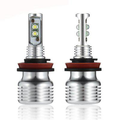 H8 High quality LED Fog Light 2000LM LED Daytime Running Lamp 12V - 24V ( 1 Pair )