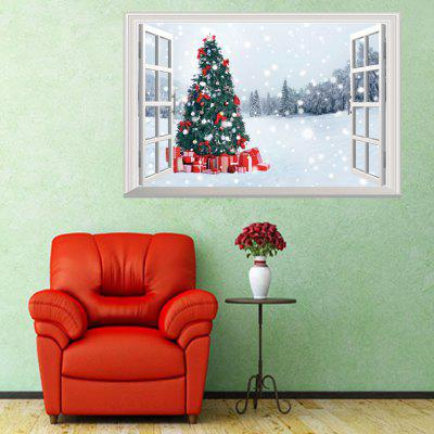 Buy Personality Christmas Snowman 3D Home Decoration Wall Stickers 50x70cm, COLORMIX, Home & Garden, Home Decors, Wall Art, Wall Stickers for $3.87 in GearBest store