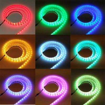 ZDM Waterproof 5M 75W 300X5050RGB SMD Light Led Strip Light 44KEY IR Remote Controller Kit DC12V