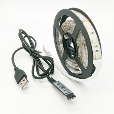 ZDM 100CM 5V Wodoodporna 1m USB LED Light Strip 15W 5050RGB 60 LEDs (DC5V)