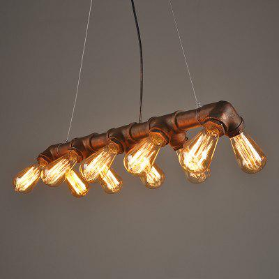 American Country Nostalgic Creative Restaurant Light Bar Cafe Industry Wind Restoring Ancient Ways Double Drain Droplight