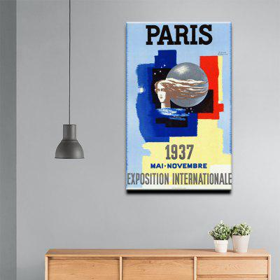 YHHP Canvas Print Pop Art Poster Paris Wall Decor for Home ...