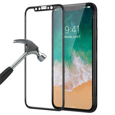 Full Coverage Tempered Glass Screen Protector Film for iPhone X