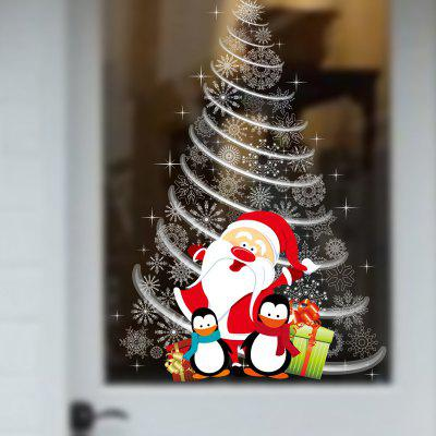 Buy Santa Claus Gifts Tree Window Wall Stickers Removable Vinyl Wall Decals Xmas Decor, COLORMIX, Home & Garden, Home Decors, Wall Art, Wall Stickers for $3.46 in GearBest store