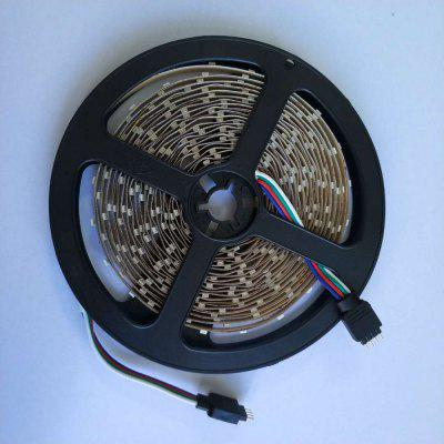 Buy RGB COLOR 1PCS 5M 16.4FT Flexible RGB LED Strip Light 300SMD 5050 Not Waterproof DC5V Black PCB for $10.67 in GearBest store