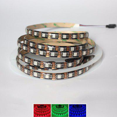 Buy RGB COLOR 1PCS 5M 16.4FT Flexible RGB LED Strip Light 300SMD 5050 Waterproof DC5V Black PCB for $13.52 in GearBest store