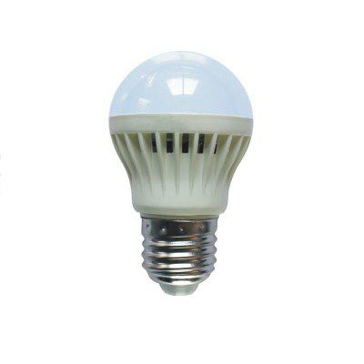 3W E27 White LED Smart Bulbs 265 lm Sound-Activated Decorative Light Control AC 220V
