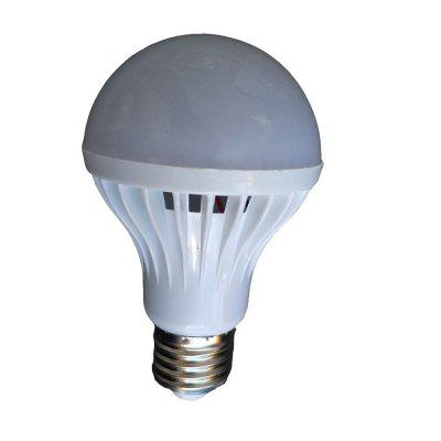 7W E27 White LED Smart Bulbs Sensor Lamp  420 lm Sound-Activated Decorative Light Control AC 220V 1PCS
