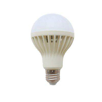 12W E27 White LED Smart Bulbs 578 lm Sound-Activated  Light Control Decorative AC 220V