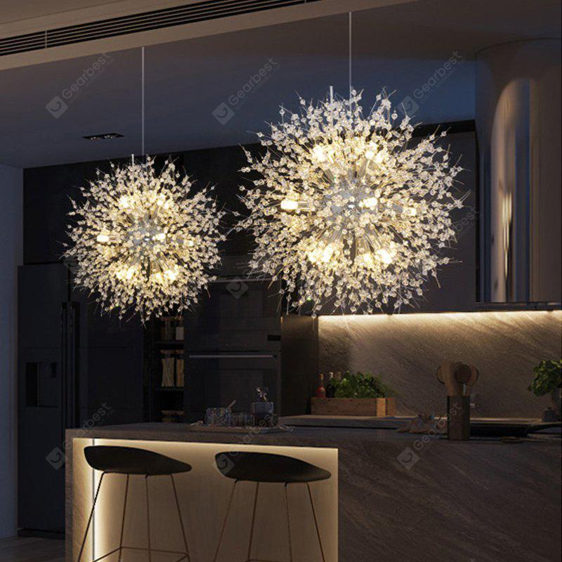 ZUOGE Designer Spark Ball Round Creative Chandelier Crystal Ball Art Chandelier-110V