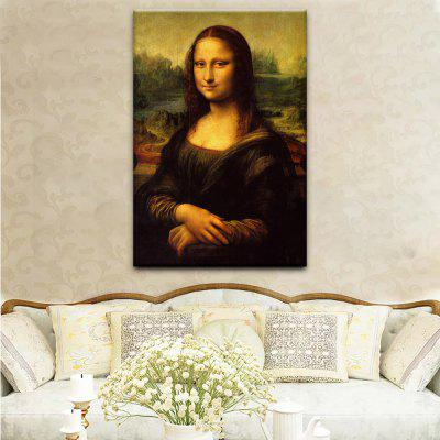 Buy YHHP Canvas Print Portrait of The Mona Lisa Wall Decor For Home Decoration, COLORMIX, Home & Garden, Home Decors, Wall Art, Prints for $12.79 in GearBest store