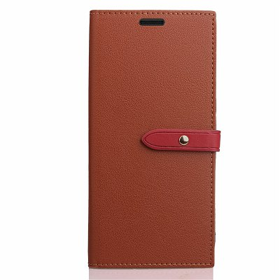Business Card Slot Lanyard PU Leather Phone Case for Xiaomi Redmi 4X