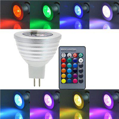 SUPli MR16 3W RGB LED Light Bulb Lamp Spotlight
