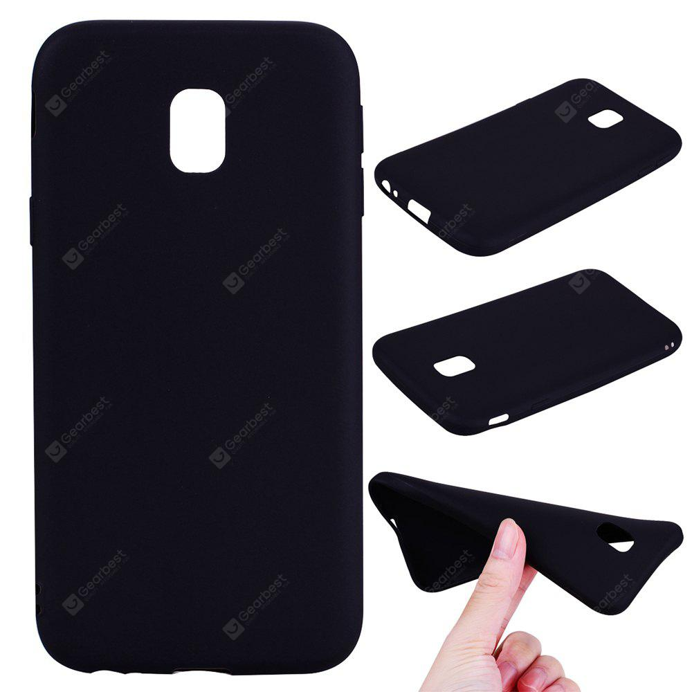 Textured Ultra-Slim TPU Soft Back Case for Samsung Galaxy J3 2017 (Europe Edition)
