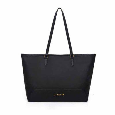 Buy BLACK HORIZONTAL New Casual Shoulder Bag for $21.99 in GearBest store