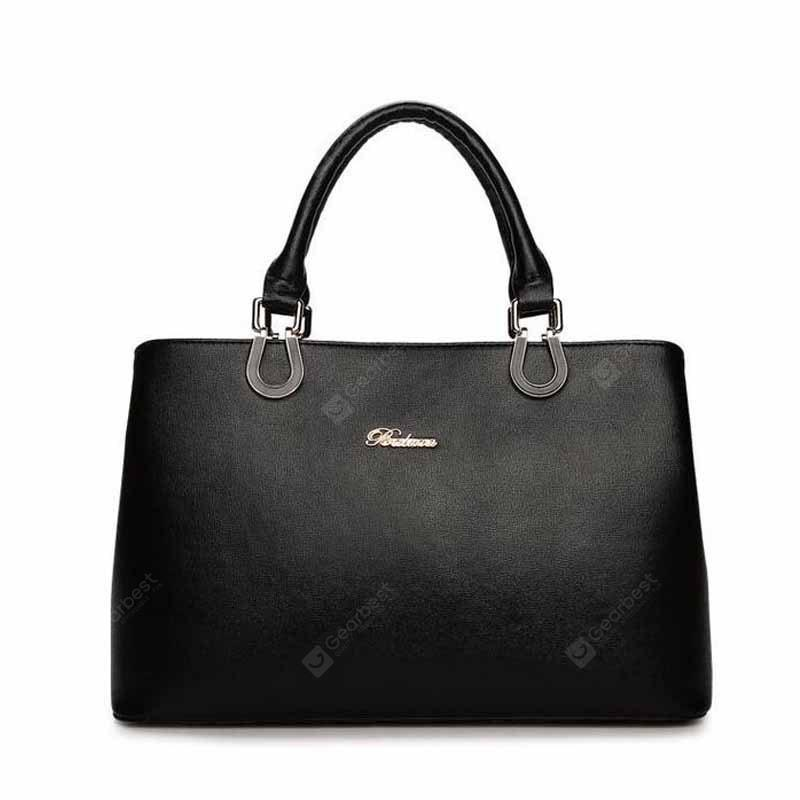 BLACK HORIZONTAL Casual Business Single Shoulder Bag