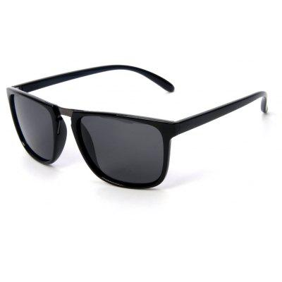 TOMYE P6071 Fashion Neutral PC Square Frame Polarized Sunglasses