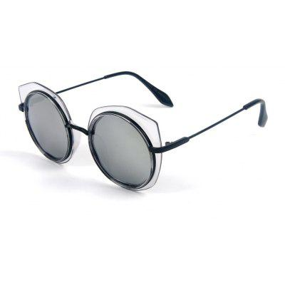 Buy MERCURY LENS TOMYE 55907 2018 New PC Metal Cat Eye Women Polarized Sunglasses for $16.55 in GearBest store
