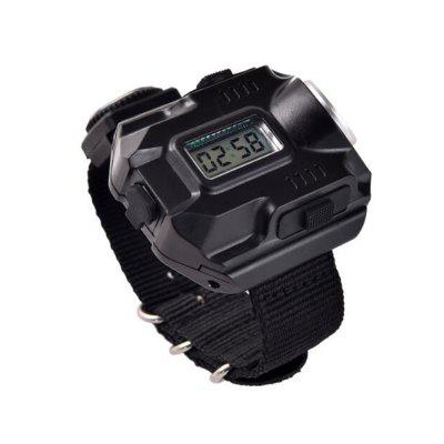 Outdoor Night Q5 LED Lamp Beads Waterproof Outdoor Sports Watch
