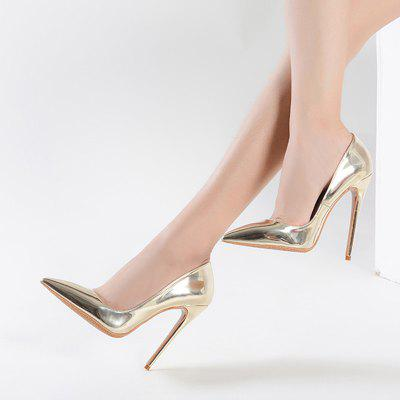Womens Heels Formal Shoes Leatherette Summer Fall Wedding Party Stiletto Heel Silver GoldWomens Pumps<br>Womens Heels Formal Shoes Leatherette Summer Fall Wedding Party Stiletto Heel Silver Gold<br><br>Available Size: 34-43<br>Heel Height: 12<br>Heel Height Range: Super High(Above4)<br>Heel Type: Stiletto Heel<br>Insole Material: PU<br>Lining Material: PU<br>Occasion: Wedding<br>Outsole Material: Rubber<br>Package Contents: 1xShoes(pair)<br>Platform Height: 1<br>Pumps Type: Basic<br>Season: Summer, Spring/Fall<br>Shoe Width: Medium(B/M)<br>Toe Shape: Pointed Toe<br>Toe Style: Closed Toe<br>Upper Material: PU<br>Weight: 1.5840kg