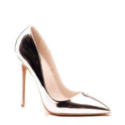 Buy GOLDEN 40 Women's Heels Formal Shoes Leatherette Summer Fall Wedding Party Stiletto Heel Silver Gold for $52.99 in GearBest store
