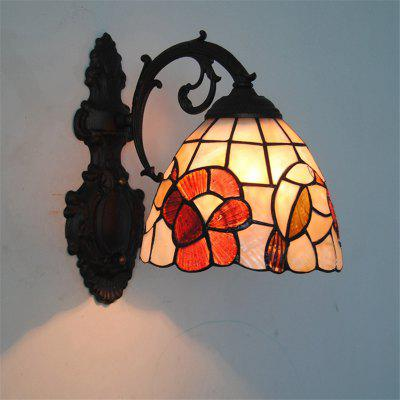 Buy COLORMIX Modern Art Shell Crafts Nordic Shell Patch Lamp Shade Lustre Vanity Wall Light Fixtures Handicrafts Christmas Decor for Home Living Room Bathroom Bedroom Bedside Sconces Luminaire BKBD-10 for $89.76 in GearBest store