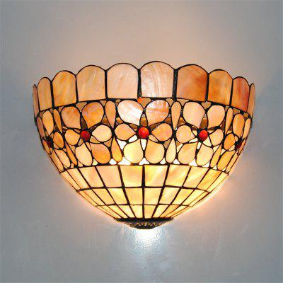 Buy COLORMIX Modern Art Shell Crafts Nordic Shell Patch Lamp Shade Lustre Vanity Wall Light Fixtures Handicrafts Christmas Decor for Home Living Room Bathroom Bedroom Bedside Sconces Luminaire BKBD-11 for $83.37 in GearBest store